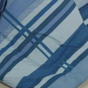 Edredom Casal Percal 200 fios - Adonis Azul - Dui Design