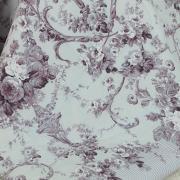 Jogo de Cama Queen Percal 180 fios - Adore Albergine - Dui Design