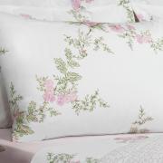 Jogo de Cama Casal 150 fios - Afrodite Rosa - Teka