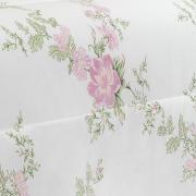 Edredom Casal 150 fios - Afrodite Rosa - Teka