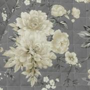 Enxoval Solteiro com Cobre-leito 5 peças 150 fios - Agda Preto e Branco - Dui Design