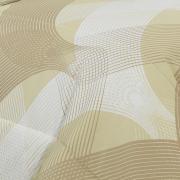 Jogo de Cama Queen 150 fios - Aiko Bege - Dui Design