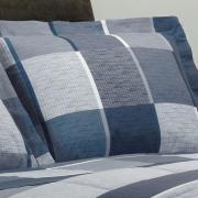 Jogo de Cama Casal 150 fios - Alex Indigo - Dui Design