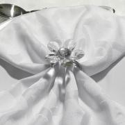 Kit: 4 Guardanapos 50x50cm - Alliance Branco - Dui Design