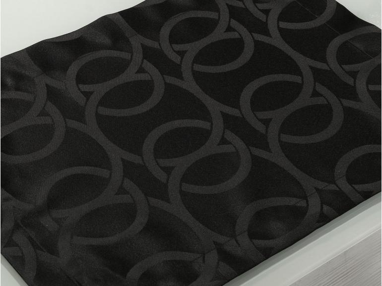 Jogo Americano 4 Lugares (4 peças) Fácil de Limpar 35x50cm - Alliance Preto - Dui Design