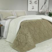 Edredom Casal Pele de Carneiro e Plush - Sherpa Allure Bege - Dui Design