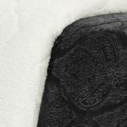 Edredom Solteiro Pele de Carneiro e Plush - Sherpa Allure Grafite - Dui Design