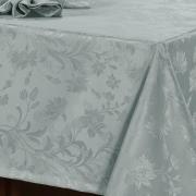Toalha de Mesa Fácil de Limpar Quadrada 4 Lugares 160x160cm - Amalfi Cinza - Dui Design