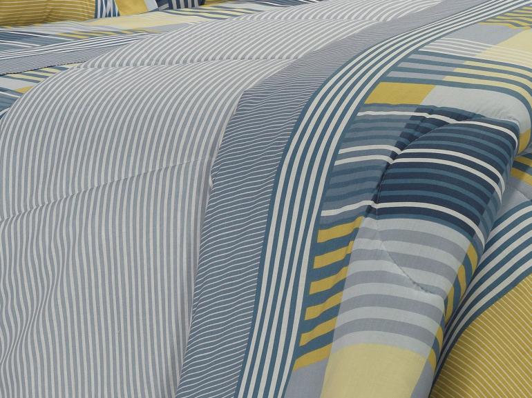 Edredom King 150 fios - Anacapri Azul - Dui Design