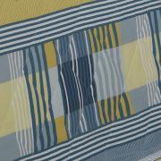 Enxoval King com Cobre-leito 7 peças 150 fios - Anacapri Azul - Dui Design