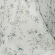 Jogo de Cama Casal 135 fios - Angelita Azul - Corttex