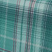 Kit: 1 Cobre-leito Solteiro Bouti de Microfibra Ultrasonic Estampada + 1 Porta-travesseiro - Antony Azul - Dui Design