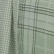 Kit: 1 Cobre-leito King Bouti de Microfibra Ultrasonic Estampada + 2 Porta-travesseiros - Antony Confrei - Dui Design