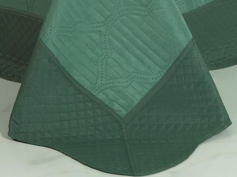Kit: 1 Cobre-leito King Bouti de Microfibra Ultrasonic + 2 Porta-travesseiros - Assis Confrei - Dui Design