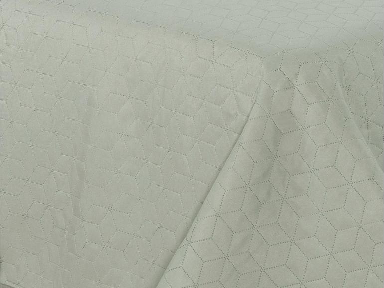 Kit: 1 Cobre-leito King Bouti de Microfibra Ultrasonic + 2 Porta-travesseiros - Avalon Stone - Dui Design