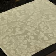 Jogo Americano 4 Lugares (4 peças) Fácil de Limpar 35x50cm - Baroque Bege - Dui Design
