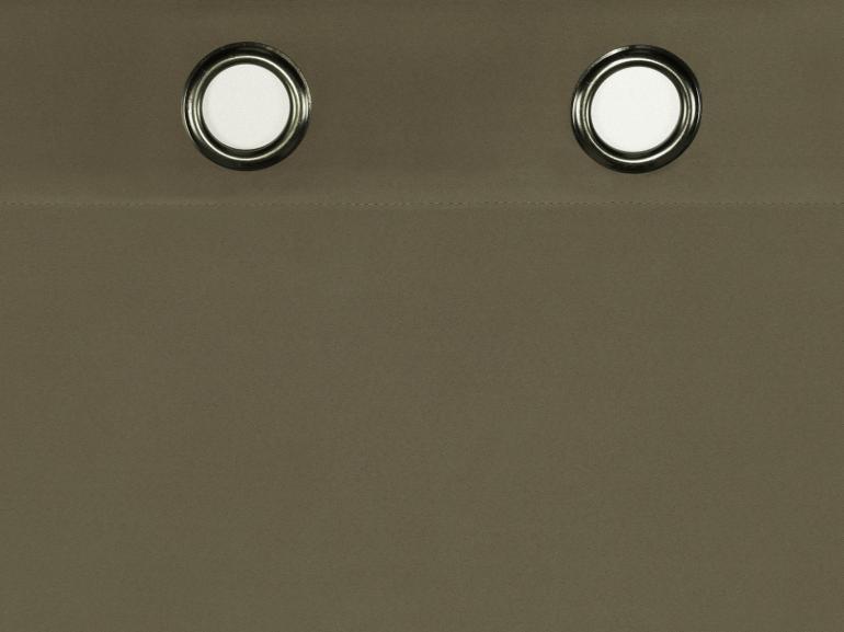 Cortina Blackout Fosco 2,30m de Altura para Varão entre 1,80m e 2,20m de Largura - Basic - Dui Design