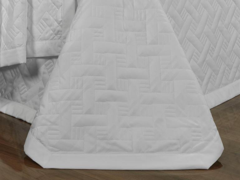 Jogo de Cama Casal Cetim de Algodão 1.000 fios - Baviera Branco - Dui Design