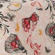 Jogo de Cama Casal Percal 180 fios - Be Fashion Nude - Dui Design