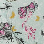 Enxoval Solteiro com Cobre-leito 5 peças Percal 180 fios - Be Fashion Turquesa - Dui Design