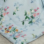Edredom Solteiro Percal 200 fios - Beatrice Azul - Dui Design