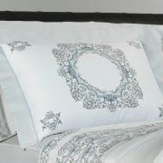 Jogo de Cama Queen Cetim 300 fios - Bellagio Cinza - Dui Design
