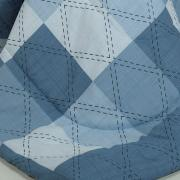 Jogo de Cama King 150 fios - Benedit Azul - Dui Design