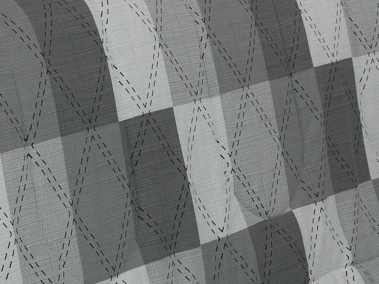 Jogo de Cama Casal 150 fios - Benedit Cinza - Dui Design