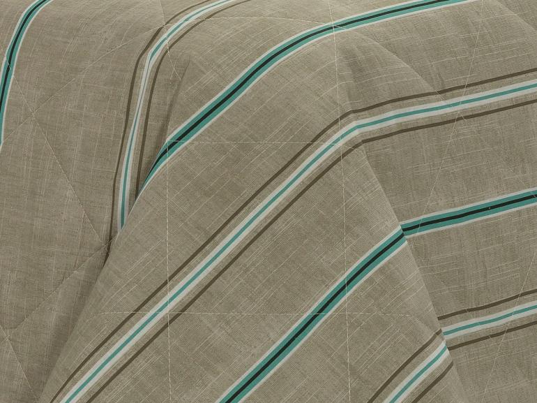 Kit: 1 Cobre-leito King + 2 Porta-travesseiros 150 fios - Benny Stone - Dui Design