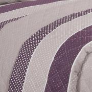 Enxoval Casal com Cobre-leito 7 peças Percal 180 fios - Billy Albergine - Dui Design