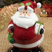 Bomboniere Natal de Cerâmica com 24,7cm de altura - Nicolaus - Dui Design