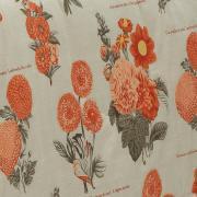 Edredom Casal Percal 200 fios - Botanic Stone - Dui Design