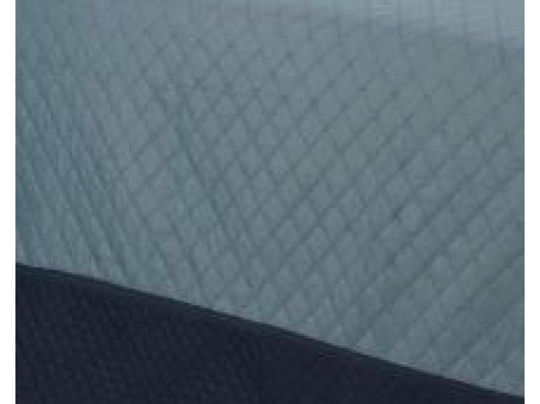 Kit: 1 Cobre-leito Casal Bouti de Microfibra Ultrasonic + 2 Porta-travesseiros - Basic Denin - Dui Design