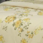 Jogo de Cama Queen Percal 180 fios - Britany Marfim - Dui Design