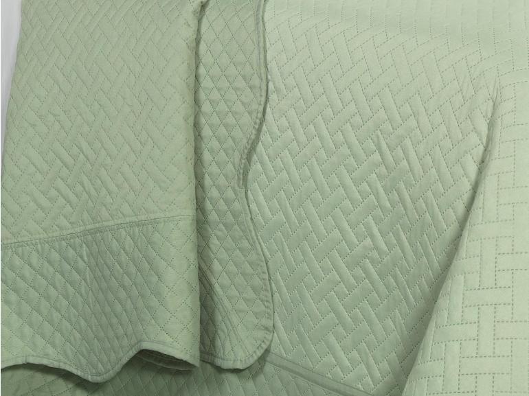 Kit: 1 Cobre-leito King Bouti de Microfibra Ultrasonic + 2 Porta-travesseiros - Burnie Confrei - Dui Design
