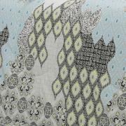 Jogo de Cama Solteiro Percal 200 fios - Cairo Cinza - Dui Design