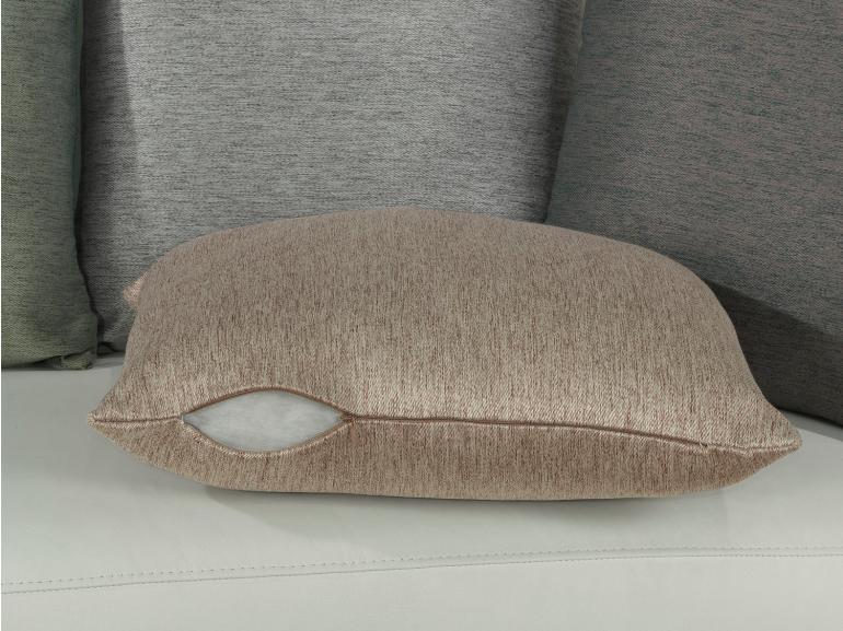 Capa de Almofada 45x45cm Avulsa com Zíper 100% Poliéster - Sem Enchimento  - Dui Design