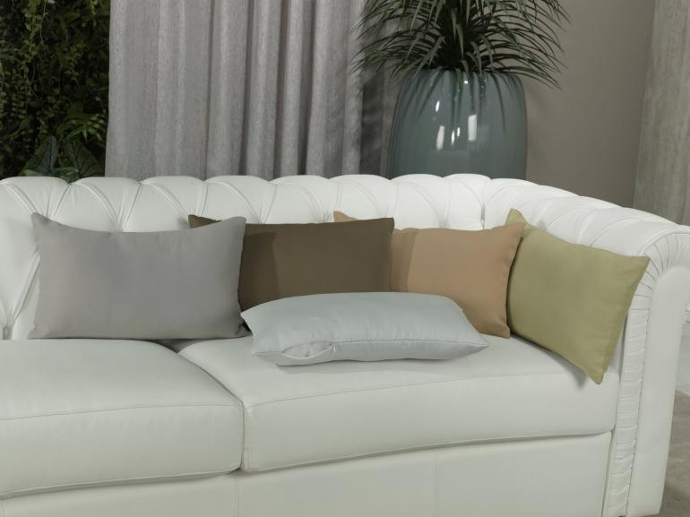 Capa de Almofada 30x50cm Avulsa com Zíper 100% Poliéster - Sem Enchimento - Dui Design