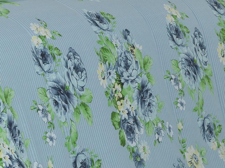 Jogo de Cama Queen 150 fios - Celia Azul - Dui Design