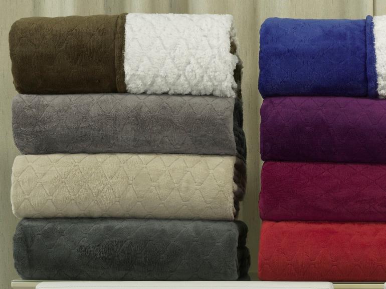 Cobertor Avulso Casal com efeito Pele de Carneiro - Chamber Sherpa - Dui Design