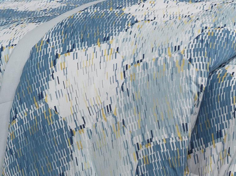 Jogo de Cama Casal 150 fios - Columbia Indigo - Dui Design