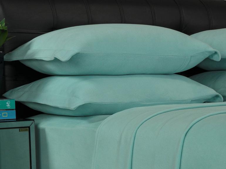 Jogo de Cama Queen Plush feito de Manta de Microfibra - Conforto Acqua - Dui Design