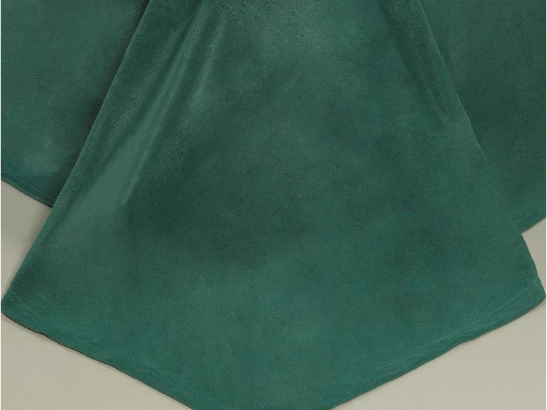 Jogo de Cama King Plush feito de Manta de Microfibra - Conforto Azul Petróleo - Dui Design