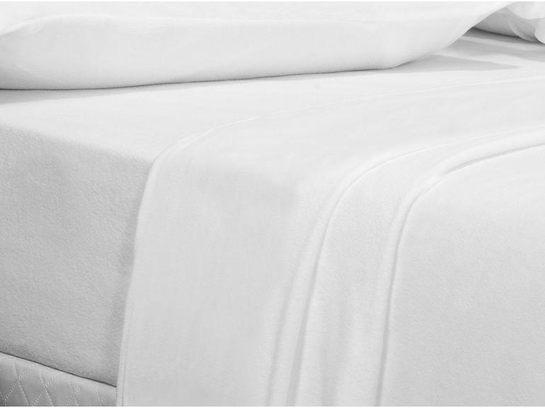 Jogo de Cama King Plush feito de Manta de Microfibra - Conforto Branco - Dui Design