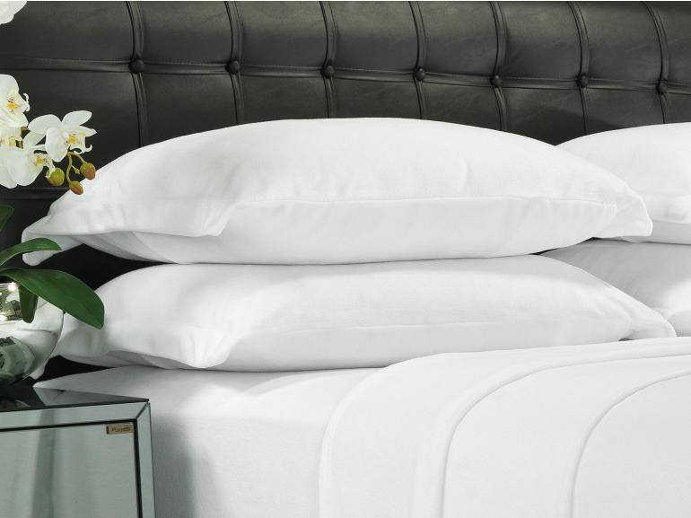 Jogo de Cama Queen Plush feito de Manta de Microfibra - Conforto Branco - Dui Design