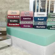 Lençol Plush King com elástico Avulso - Conforto - Dui Design
