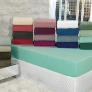 Lençol Plush Solteiro com elástico Avulso - Conforto - Dui Design