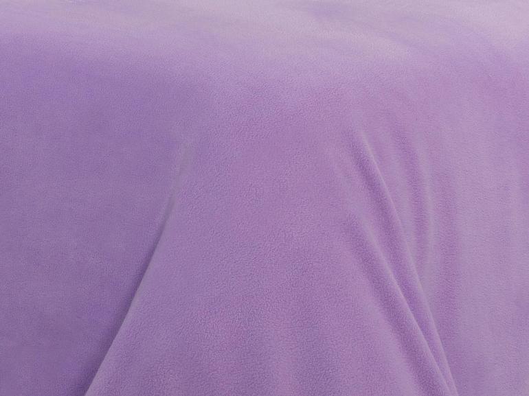 Jogo de Cama Queen Plush feito de Manta de Microfibra - Conforto Lilás Crocus - Dui Design