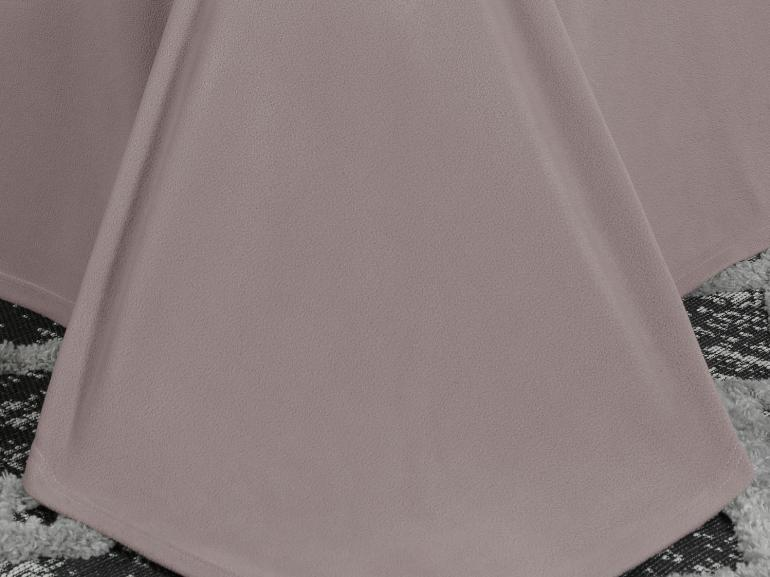 Jogo de Cama Casal Plush feito de Manta de Microfibra - Conforto Lilás Vintage - Dui Design