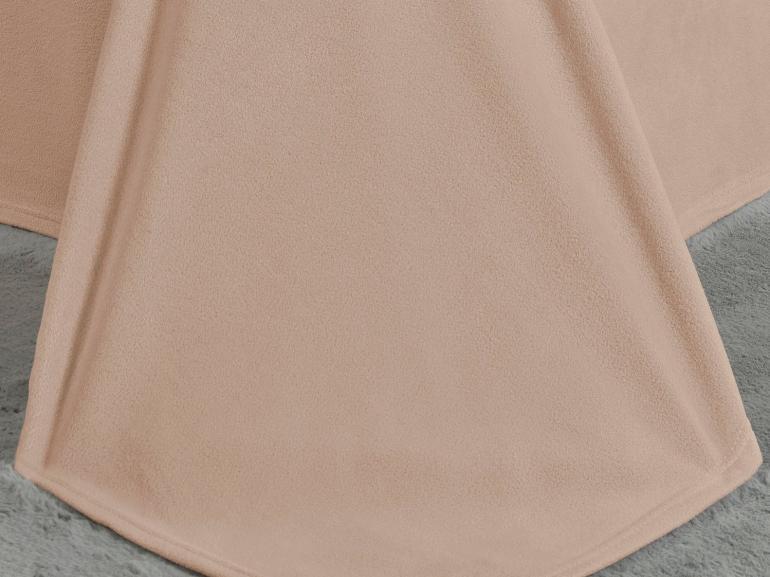 Jogo de Cama Queen Plush feito de Manta de Microfibra - Conforto Nude - Dui Design